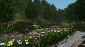 A virtual forest, designed to help dementia sufferers.