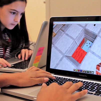 Serious Games like Minecraft engage students on a much deeper level with its emerging gameplay.