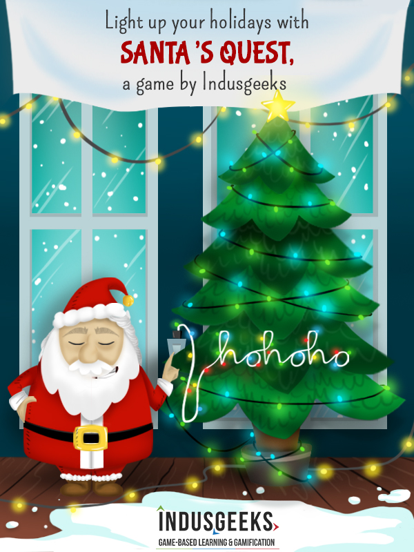 Have a very Gamified Christmas, and a New Year filled with game based learning!