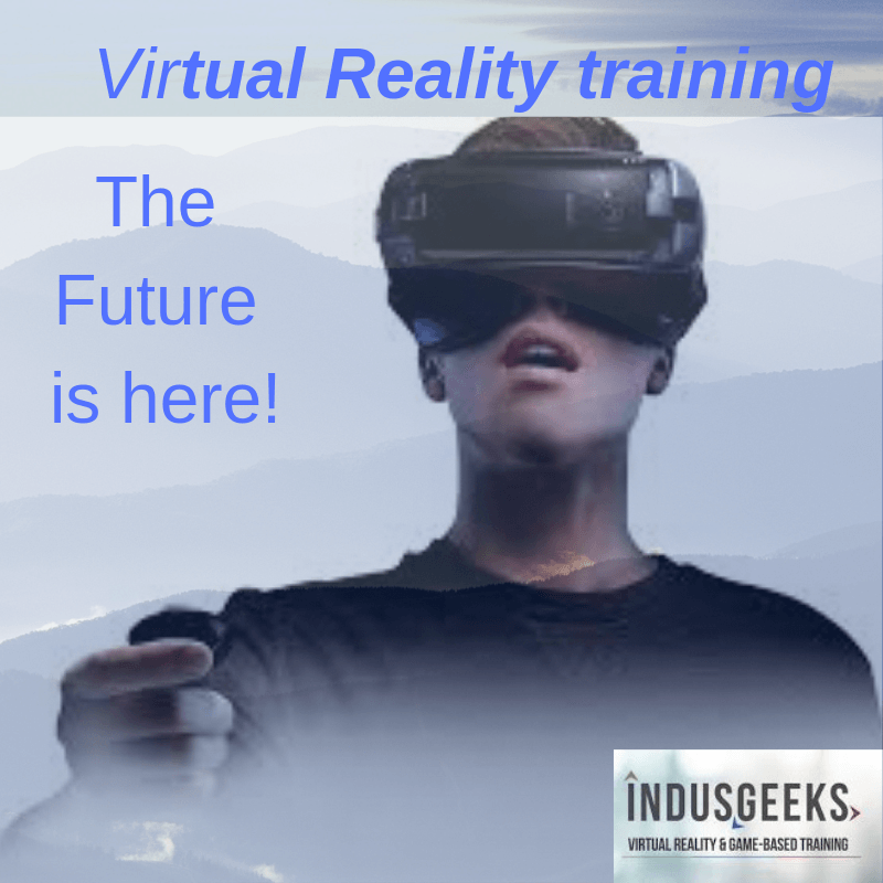 training using virtual reality